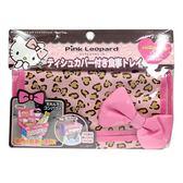 【震撼精品百貨】Hello Kitty 凱蒂貓~Hello Kitty 車用餐盤面紙套(SOFT/粉色豹紋)