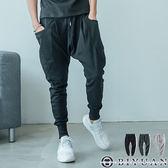MIT 大口袋 休閒褲【JG3093】OBIYUAN 棉長褲 縮口褲/束口褲 共3色