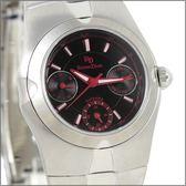 【萬年鐘錶】 Roven Dino 羅梵迪諾 楊丞琳代言 三眼黑紅字小 RD9802