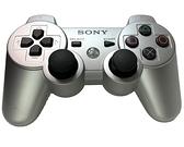 【PS3週邊】 SONY原廠 緞布銀 銀色 無線震動手把 搖桿 控制器 【中古二手商品】台中星光電玩