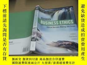 二手書博民逛書店ELEVENTH罕見EDITION BUSINESS ETHIC