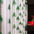 Wolan-Tree掛飾-綠色 小樹造型 長238cm/附不鏽鋼鉤針/10入裝/可剪裁/台灣製MIT【MSBT 幔室布緹】