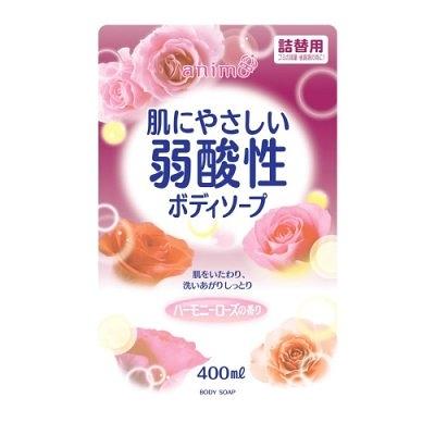 岡山戀香水~日本 Rocket Soap 弱酸性潤澤沐浴乳補充包400ml~優惠價:140元