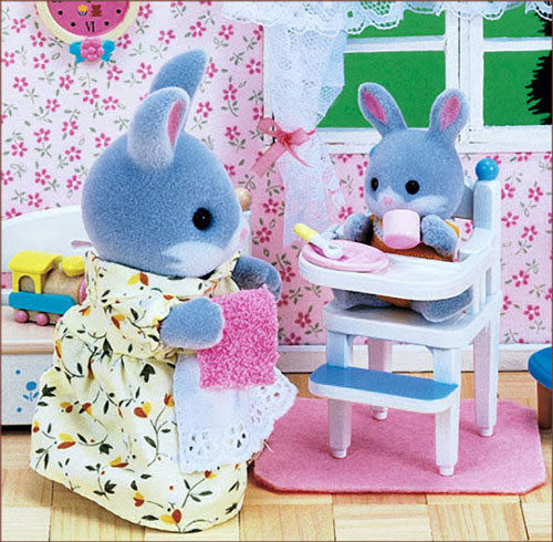 森林家族 新寶寶餐椅_EP25580