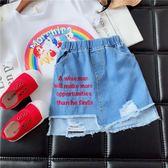 女小童洋氣裙子夏季2018新款韓版兒童牛仔