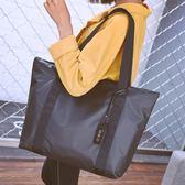 女包2018新款簡約歐美百搭大容量托特包尼龍牛津布單肩包手提包潮 【酷3c達人】