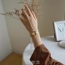 伴朵手錶女簡約ins風氣質小巧復古女式女士女生手錶女學生小錶盤 [現貨快出]