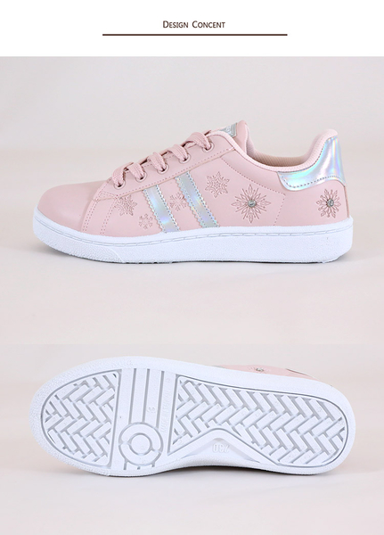 女款 Frozen 冰雪奇緣 04573 台灣製造魔鬼氈運動鞋 休閒鞋 滑板鞋 親子鞋 59鞋廊