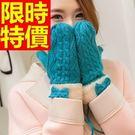 針織手套精選簡單-清新英倫風防寒羊毛女手套5色63m28【巴黎精品】