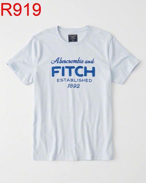 AF Abercrombie & Fitch A&F A & F 男 當季最新現貨 T-SHIRT AF R919
