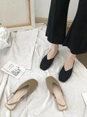 新款韓版平底網紅同款包頭女鞋仙女的鞋港味復古chic涼鞋 伊莎公主
