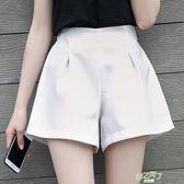短褲女夏高腰休閒寬鬆正韓學生a字闊腿熱褲新品雪紡大尺碼中元節禮物