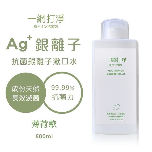 一網打淨 抗菌銀離子漱口水 AG Clean Mouthwash 500ml(清爽薄荷精油)