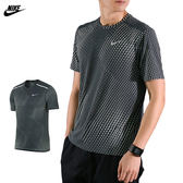 Nike Dri-Fit Rise 365 男 灰綠 短袖 運動上衣 Dri-FIT 技術 乾爽 快乾 反光 Breathe 910837328