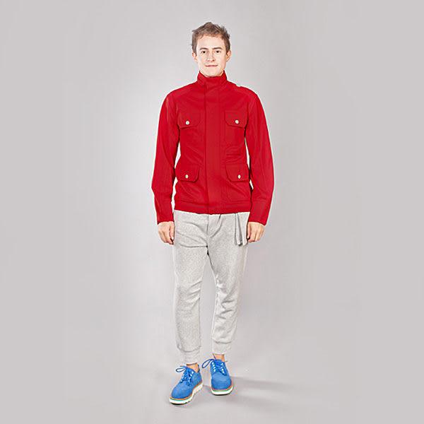 『摩達客』美國LA設計品牌【Suvnir】紅色立領外套(11112082003)