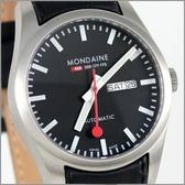 【萬年鐘錶】MONDAINE 瑞士國鐵自動機械錶 XM-135514