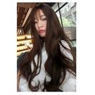 韓系全頂假髮 波浪長捲髮 八字瀏海 妹妹頭修小臉 高品質假髮 C8216X 魔髮樂Mofalove