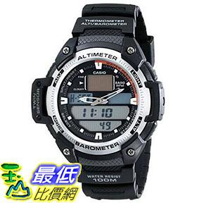 [美國直購] 手錶 Casio Mens SGW400H-1B Sport Multi-Function Grey Dial Watch