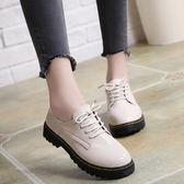 小皮鞋女學生韓版夏新款英倫學院風女鞋百搭原宿棉鞋女冬加絨