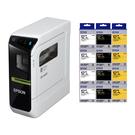 【任選市價399標籤帶12捲 加送1捲】EPSON LW-600P 智慧型藍牙手寫標籤機