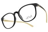 ZD-LOOK 光學眼鏡 HD-KS198 C5 (黑-象牙) 12星座 韓製濾藍光眼鏡