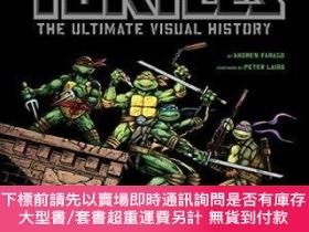 二手書博民逛書店Teenage罕見Mutant Ninja Turtles: The Ultimate Visual Histor