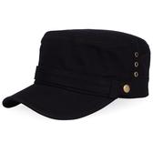 卡車帽帽子男士春休閒防曬平頂帽戶外遮陽帽全棉軍帽鴨舌帽 快速出貨