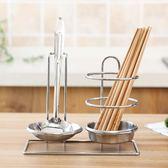 餐具架筷子勺子收納架廚房多功能置物架瀝水架筷子收納筒筷勺籠子【端午節免運限時八折】