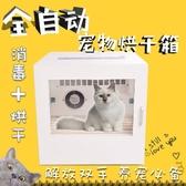 寵物烘乾箱寵物烘干箱全自動靜音寵物烘干機狗烘干箱貓咪烘干箱洗澡吹毛神器-快速出貨FC