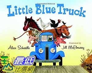 [104美國直購] 2015 美國暢銷書排行榜 Little Blue Truck Board Book