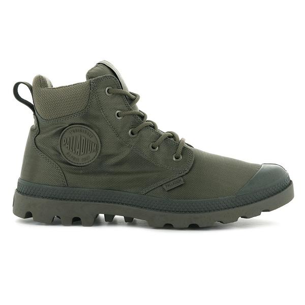 PALLADIUM PAMPA CUFF RECYCLE WP+ 男鞋 男女款 深綠色 防水 輕量 雨鞋 環保 高筒靴 06654377