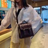 後背包 超火的雙肩包女小包2019新款韓版時尚百搭軟皮質迷你小背包斜背包 4色