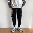 工裝褲男日系寬鬆多口袋韓版百搭束腳褲子【繁星小鎮】
