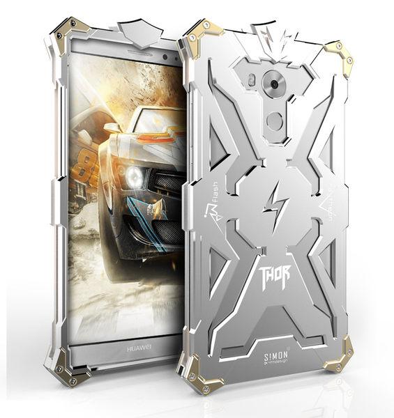 HUAWEI Mate 8 雷神金屬保護框 碳纖後殼 螺絲款 高散熱 全面防護 保護套 手機套 手機殼 華為
