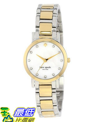 [美國直購 USAShop] 手錶 kate spade new york Women s 1YRU0147 Two-Tone Bracelet Watch $11030