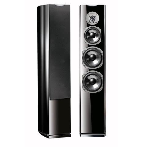 經典數位~德國Quadral SIGNO AVANTGARDE 80 落地式喇叭(黑色/白色)