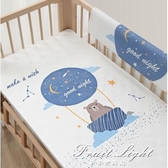 嬰兒隔尿墊防水透氣可洗夏天大號水洗床墊超大純棉隔夜墊 果果輕時尚