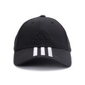 ADIDAS 6P 3S CAP COTTO 三線運動帽 黑白 S98156 鞋全家福