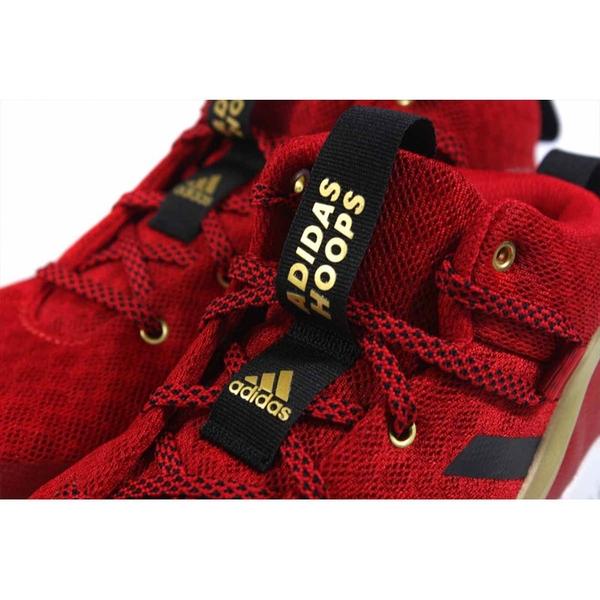 adidas Lockdown J 籃球鞋 運動鞋 紅色 大童 童鞋 FZ1693 no878