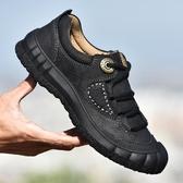 登山鞋男鞋登山鞋男真皮戶外鞋防滑防水運動休閒鞋徒步鞋雙12搶購