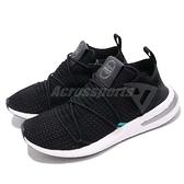 【四折特賣】adidas 慢跑鞋 ARKYN PK 黑 白 襪套式 繫帶芭蕾系列 回饋中底 運動鞋 女鞋【ACS】 B28123