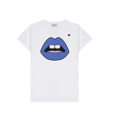 Yazbukey Princess Lips Unisex T-Shirt 公主藍色嘴唇T恤(S號)