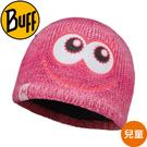 【BUFF 西班牙 兒童 粉紅眨眨POLAR針織保暖帽】113452/秋冬款/口罩/圍巾/自行車領巾/脖圍