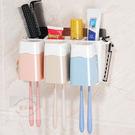 無痕貼牙刷架組合套裝/  置物架 收納架 牙刷掛架 浴室牙刷專用架