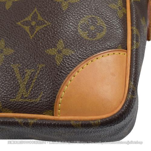 茱麗葉精品 二手精品  【8.5成新】Louis Vuitton LV M51272 M51274 經典花紋斜背記者包