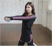 瑜伽運動套裝女新款健身房跑步寬鬆速乾衣專業性感健身服女潮    潮流前線