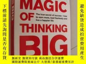 二手書博民逛書店The罕見Magic of Thinking Big (2016