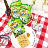 泰國【 YUM YUM CHANG NOI 小象麵--檸檬風味 一袋6包 ( 綠 )132g】 A24