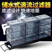 魚缸滴流盒過濾盒水族箱上置上部過濾器過濾槽過濾設備底濾設計igo 茱莉亞嚴選
