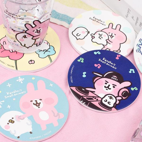 PGS7 卡娜赫拉系列商品 - 卡娜赫拉 Kanahei 兔兔 P助 吸水 杯墊  墊子 水杯【SFN80102】